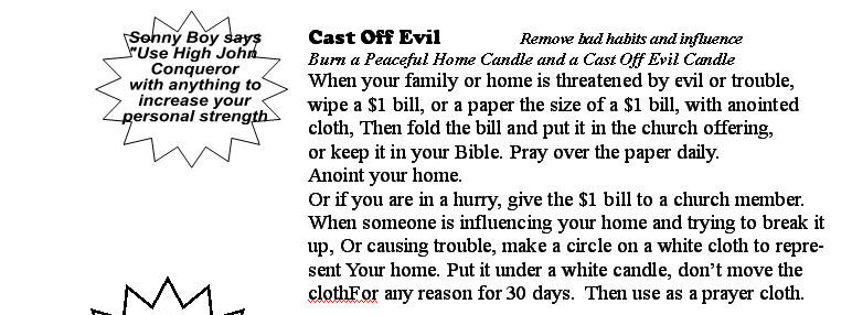 Chase Evil From Your Home  Remove Evil Influence! Overcome Evil