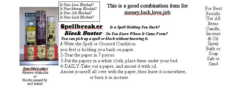 Remove Jinx from Money, Job, Luck, Love  Break a Spell that is