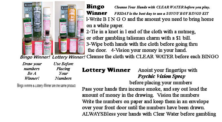 Help Me Win at Bingo and Lottery Numbers