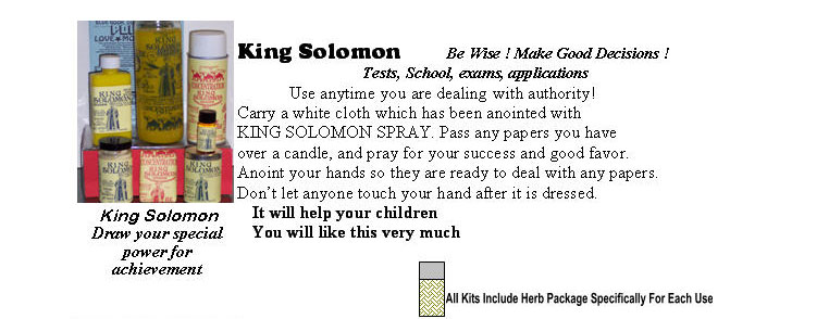 King Solomon helps you make good decisions and be wise